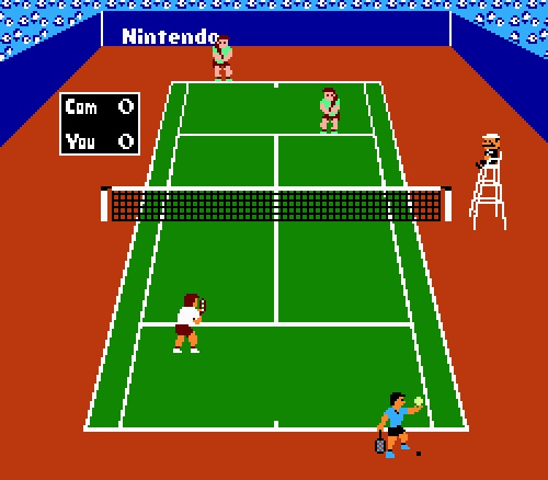 Computer-Game Tennis Players